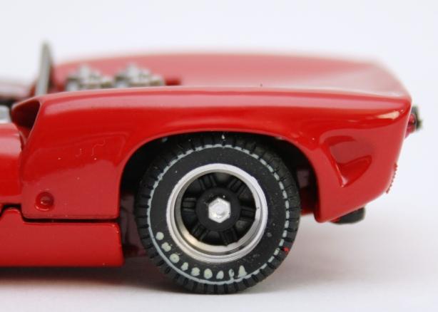 Macheta Lola T70 1965  - roata