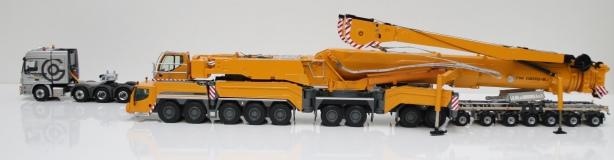 Liebherr LTM 11200 - bratul montat