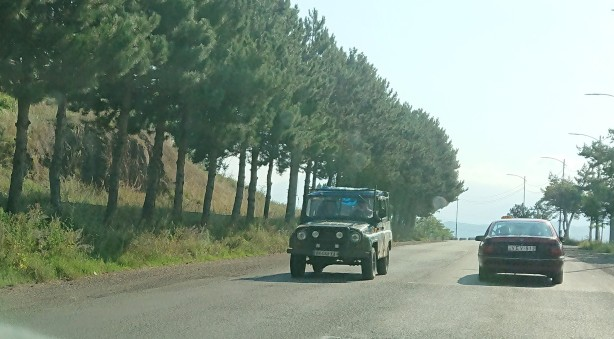 UAZ Hunter in Georgia